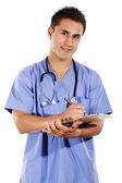 Mannelijke gezondheidszorg werknemer — Stockfoto