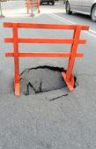 Hole — Stock Photo