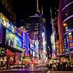 Distrito de teatros de nueva york — Foto de Stock