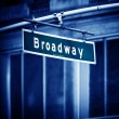 Broadway sign — Stock Photo #13503739