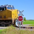 Stock Photo: Speeding train