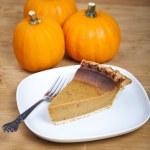 Pumpkin pie — Stock Photo #23791797