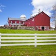 American farm — Stock Photo