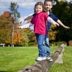 Kids playing — Stock Photo