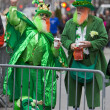 Stock Photo: St. Patrick's Day Parade New York 2013