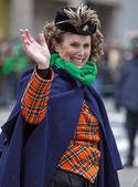 St. Patrick's Day Parade New York 2013 — Stock Photo
