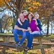 Family in fall — Stock Photo #41615053