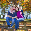 Family in fall — Stock Photo #41615081