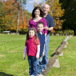Family in fall — Stock Photo #41615113