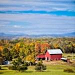 New England farm — Stock Photo