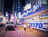 NYPD in Times Square — Stock Photo