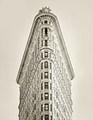 Flat Iron Building — Stock Photo