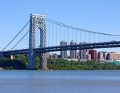 George Washington Bridge — Stock Photo