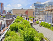 Chelsea High Line park — Stock Photo
