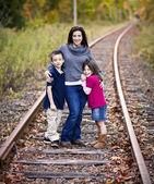 子供を持つ母 — ストック写真