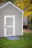 Garden shed — Stock Photo