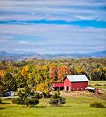 Fazenda Nova Inglaterra — Fotografia Stock