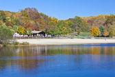 Fall lake — Stock Photo