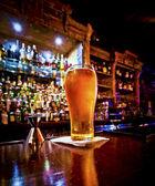 Pint of beer — Stock Photo