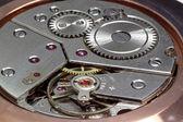 Closeup of watch gears — Stock Photo
