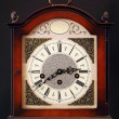 Stock Photo: Old table clock