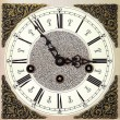Closeup of old table clock — Stock Photo #20724551