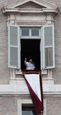 Pope Francis I during the first Angelus — Foto de Stock