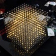 Cube of leds — Stock Photo