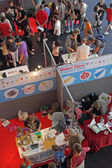People at Maker Faire Festival — Stockfoto