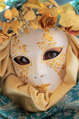 Female mask at Carnival of Venice — Stock Photo