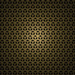Abstract dark honeycomb background — Stock Photo