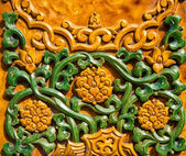 Сolorful chinese wall ornament — Foto Stock