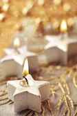 Weihnachtskerzen — Stockfoto