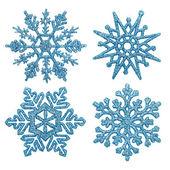 Płatki śniegu. — Zdjęcie stockowe