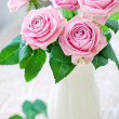Fresh pink roses — Stock Photo #18313475