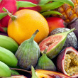 Fruit background - Stock Photo