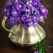 Chrysanthemum in a jug — Stock Photo