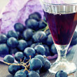 Grapes and wine — Stock Photo #36919359
