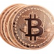 Stock Photo: Bitcoins