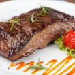 Grilled sirloin steak — Stock fotografie #12521600