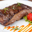 Grilled sirloin steak — Stock Photo #12521600