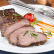 Stock Photo: Grilled sirloin steak