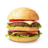Hamburger — Stockfoto
