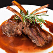 Roasted Lamb Chops — Stock Photo #12583449