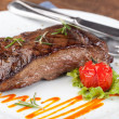 Grilled sirloin steak — Foto de stock #13181697