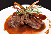 Roasted Lamb Chops — Foto de Stock