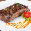 Sirloin steak — 图库照片