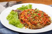 салат из жареных овощей — Стоковое фото