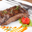 Sirloin steak — Foto de stock #13545545