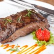 Sirloin steak - Stock Photo